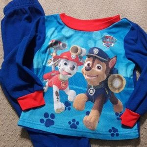 Boys sz 3T paw patrol 2pc jammies set